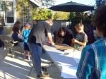How many adults does it take to fold a pizza box? :)